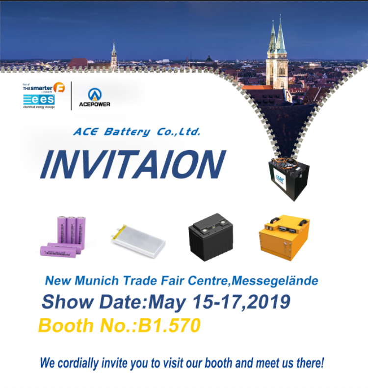 ACE Battery Company Intersolar EES Europe